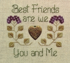 Best Friends LL08 Little Leaf kit Elizabeth's Designs  - $11.70