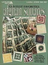 Contest Favorites Afghan Squares - Crochet Patterns - $15.97