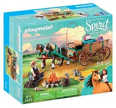 PLAYMOBIL® Spirit Riding Free Lucky's Dad with Covered Wagon Toy - $26.32