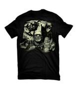 Universal Monsters Bela Lugosi Collage Black Adult T-Shirt, NEW UNWORN - $14.50