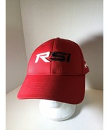 Taylormade RSi Golf Red Mens Adjustable Logo Cap Hat Strapback Mis Hits ... - $18.55
