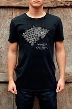 Men's T-shirt Stark Winter Is Coming Inspired Game Of Thrones T-shirt & Women's - $15.94+