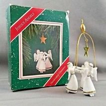 Hallmark Keepsake Ornament Joyous Angels QX465-7 with box 1987 - $9.90