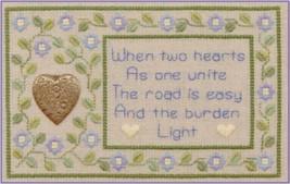 Two Hearts LL24 Little Leaf kit Elizabeth's Designs  - $11.70