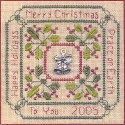 Primary image for Christmas Greetings LL27 Little Leaf kit Elizabeth's Designs
