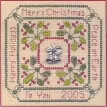 Christmas Greetings LL27 Little Leaf kit Elizabeth's Designs  - $11.70