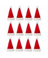12PCS Kids&Adult Soft Plush Ultra Thick Christmas Cap Hat TkLinkin17 - $79.20