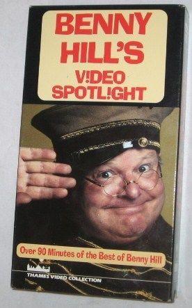 Benny Hill's Video Spotlight VHS Tape , 2002 Comedy, FREE SHIPPING U.S.A.