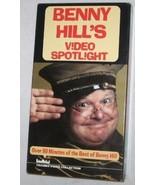 Benny Hill's Video Spotlight VHS Tape , 2002 Comedy, FREE SHIPPING U.S.A. - $7.25