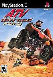 ATV Offroad Fury Sony PS2 2001 Video Game W/ Instructions FREE SHIPPING USA