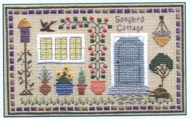 Songbird Cottage LL37 Little Leaf kit Elizabeth's Designs  - $11.70