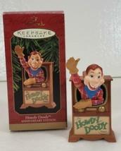 Hallmark HOWDY DOODY in TV Anniversary Edition Ornament in Box - $14.99