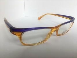 New ALAIN MIKLI AL 0691 AL0691 18 52mm Orange Purple Eyeglasses Frame France - $289.99
