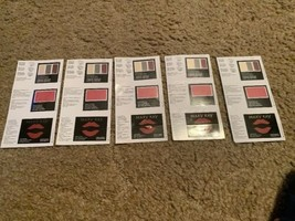 Mary Kay Color Card Sampler  Eye Color+Cheek Color+Cream Lipstick Lot of 5 - $9.89
