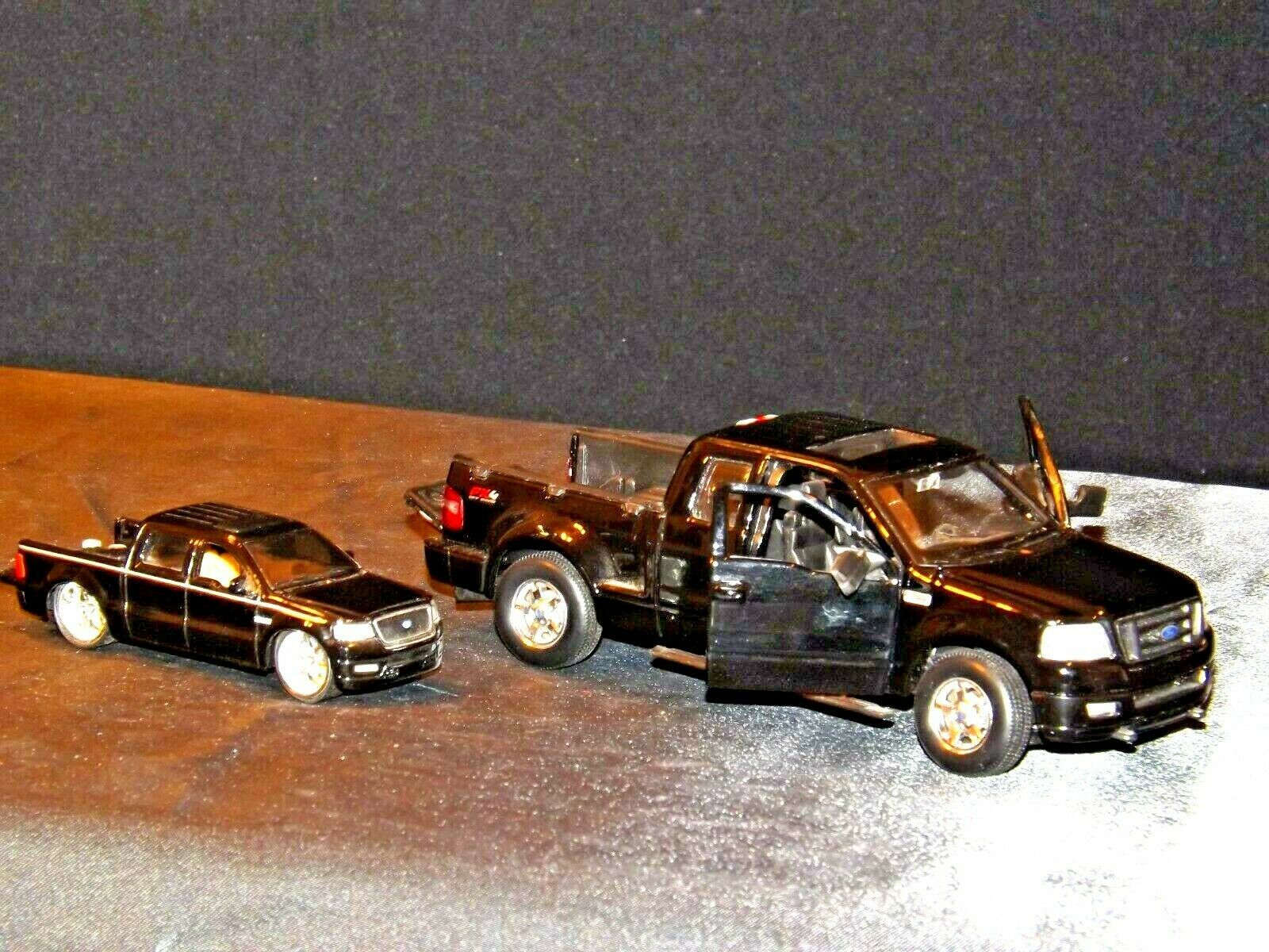 Die-cast Black F-150 Ford Trucks AA19-1507