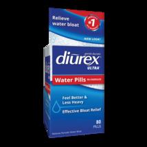 Diurex Ultra Re-Energizing Water Pills Relieve Water Bloat 80 Pills - $17.80