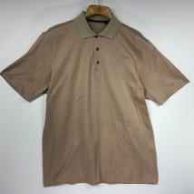 Callaway Golf Men's Shirt Polo Style Collar Shirt Sleeve Made in Italy S... - $31.26