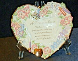 A Teacher's Heart Plate - Lessons from the Heart C B4508 Collection AA20-2079 Vi image 4