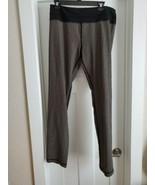 Lululemon Full Length Pin Stripe HTF Rare  Leggings Size 12 - $39.59