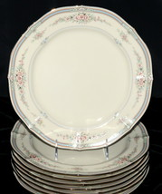 Noritake Rothschild * 8 DINNER PLATES * Japan, Small Flowers, EXC! - $99.99