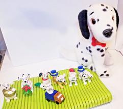 disney plush 101 Dalmatians Pongo + puppy dog mini toys - $19.79