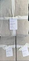 Pottery Barn Belgian Flax Linen Waffle Duvet Cover King/California King ... - $324.23