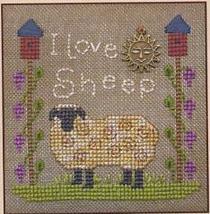 I Love Sheep LL39 Little Leaf kit Elizabeth's Designs  - $11.70