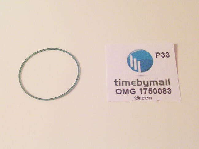 Primary image for New For OMEGA SPEEDMASTER 175.0083 Model Green Watch Case Gasket Spare Part P33