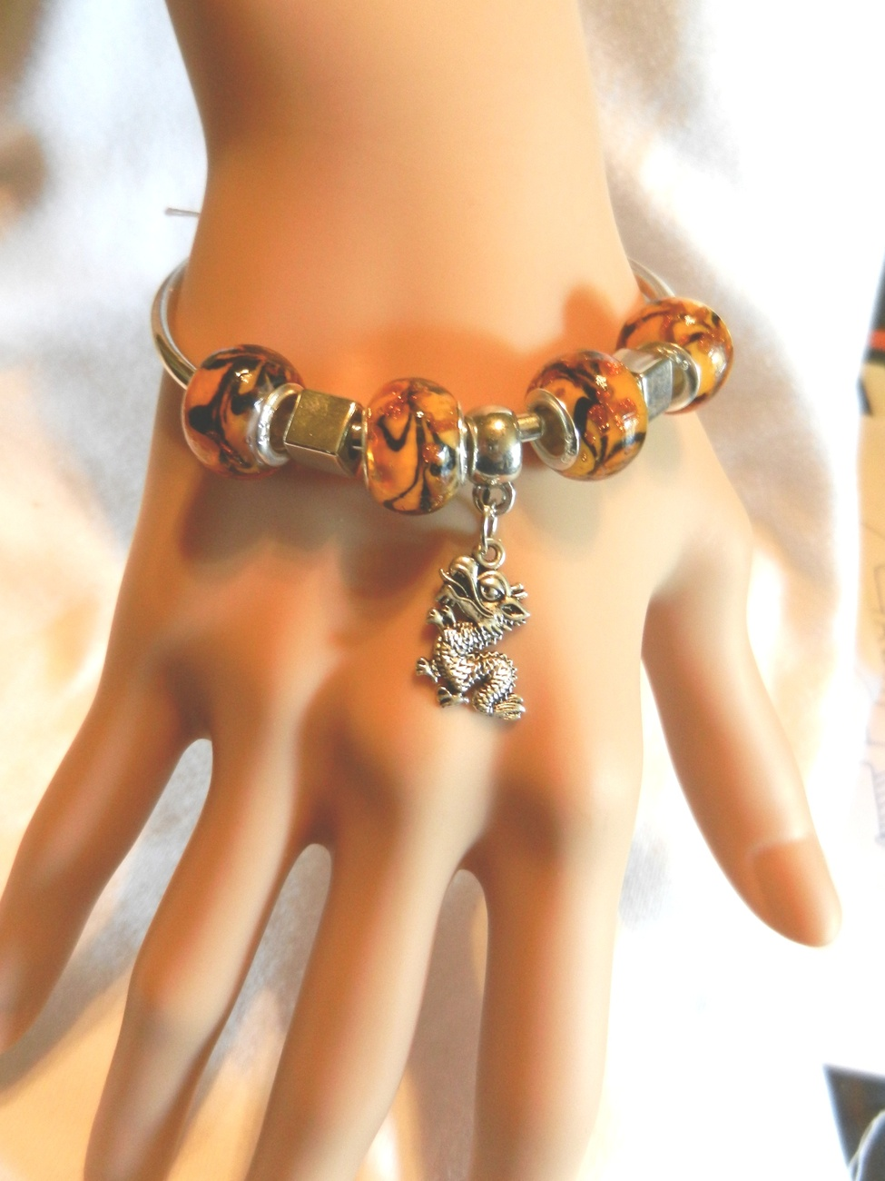 Primary image for NeW Mythical Creatures Charm Bracelet, Legends, Greek Mythology, Dragon, Fantasy