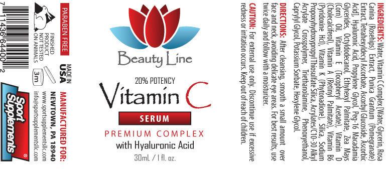 Vitamin A Cream - Vitamin C Serum 30ml - Protects The Skin From Harmful Uv 2B image 2
