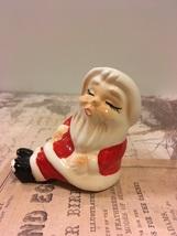 Vintage Shelf Sitter Santa Claus Single Salt or Pepper Shaker Christmas... - $0.00