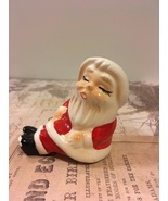 Vintage Shelf Sitter Santa Claus Single Salt or Pepper Shaker Christmas... - $0.00