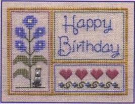Happy Birthday LL41 Little Leaf kit Elizabeth's Designs  - $11.70