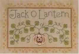 Jack O Lantern LL43 Little Leaf kit Elizabeth's Designs  - $11.70