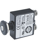 Blue Sea Push Button Reset Only Screw Terminal Circuit Breaker - 40 Amps - $19.13