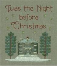 Night Before Christmas L44 Little Leaf kit Elizabeth's Designs  - $11.70