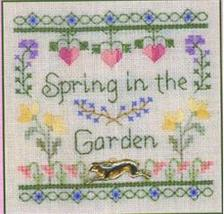 Spring in the Garden LL46 Little Leaf kit Elizabeth's Designs  - $11.70