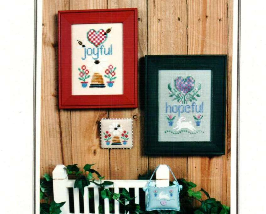 Primary image for Seasons of the Heart II  cross stitch chart Erica Michaels