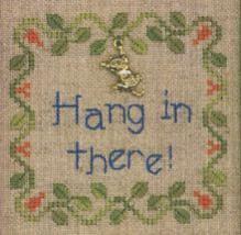 Hang In There LL52 Little Leaf kit Elizabeth's Designs  - $11.70