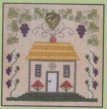 Grapevine Cottage LL53 Little Leaf kit Elizabeth's Designs  - $11.70