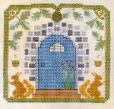 Oak Leaves & Acorns LL57 Little Leaf Kit cross stitch Elizabeth's Designs  - $11.70