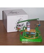 Merry Go Round Wind Up Toy Plane And Car - $35.00