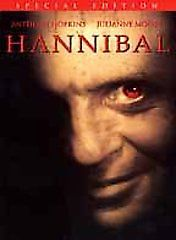 Hannibal DVD 2001 2 Disc Set Special Edition Julianne Moore, Anthony Hopkins