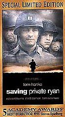 Saving Private Ryan VHS 2000 2-Tape Set Special Limited Edition FREE SHIP U.S.A.