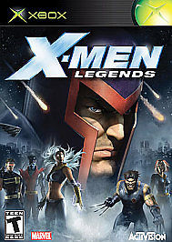 X-Men Legends Xbox, 2004 Third-Person, Role Playing, Action FREE SHIPPING U.S.A
