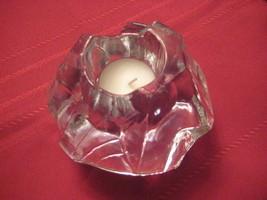 Scandinavian Glass Candle Holder  - $12.15