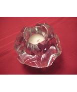 Scandinavian Glass Candle Holder  - $12.15