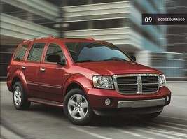2009 Dodge DURANGO sales brochure catalog 09 HYBRID SXT SLT Limited - $8.00