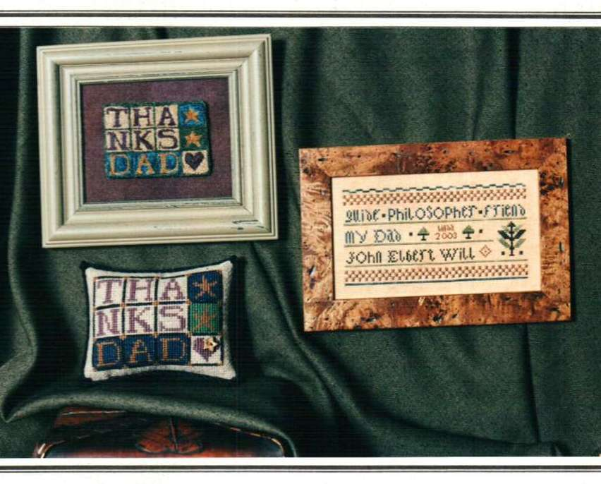 Primary image for Tribute To Dad cross stitch chart Erica Michaels