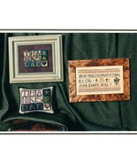 Tribute To Dad cross stitch chart Erica Michaels - $3.00